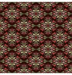 Antique ottoman turkish pattern design fourty six vector
