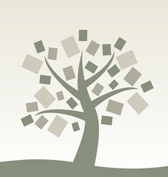 Book tree vector