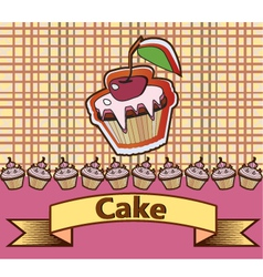 cake design vector image