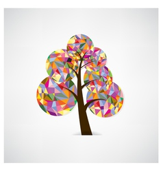 Geometric tree symbol vector