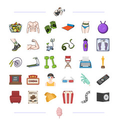 Hygiene diet leisure and other web icon in vector