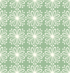 seamless petal pattern vector image vector image