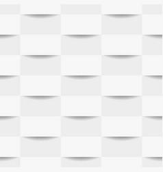 white geometric seamless texture vector image