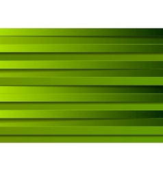 Green stripes design vector image vector image