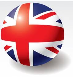 united kingdom flag vector image vector image