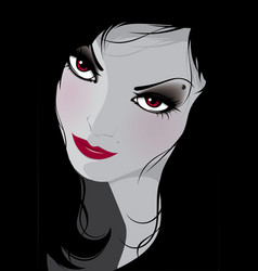 women black vector image