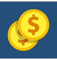 Coin icon money design graphic vector