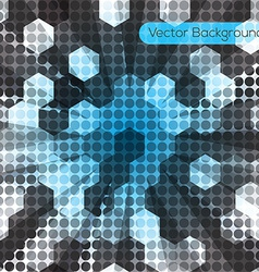 Abstract black light background vector