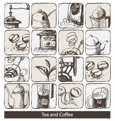 Abstraction coffee vector