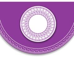 Elegant Label Background vector image vector image