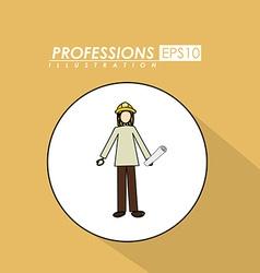 Profession desing vector