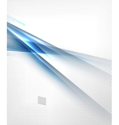 Blue light shadow straight lines design vector image