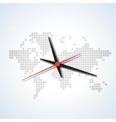 Clock map vector
