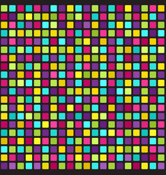 multicolor square pattern seamless geometric vector image vector image
