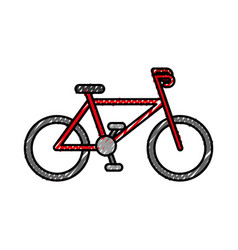 Sport bike vehicle vector
