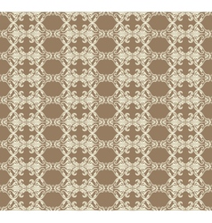 Vintage abstract geometric pattern vector