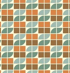 Geometric vintage seamless pattern vector image