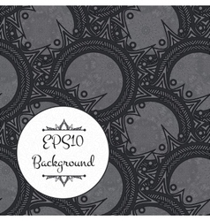 Elegant dark pattern vector