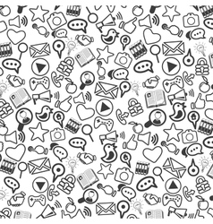 Background of universal web icons vector image vector image