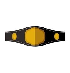 Belt icon boxing design graphic vector