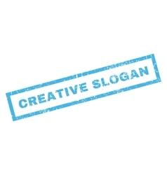 Creative slogan rubber stamp vector