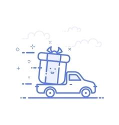 icon shopping concept vector image
