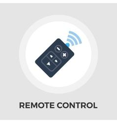 Remote control flat icon vector