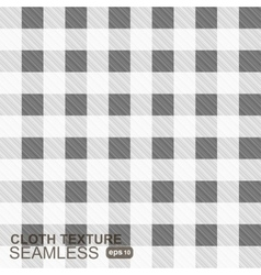 Cloth texture -seamless pattern vector