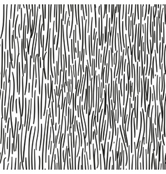 Abstraction black stripes seamless pattern vector image