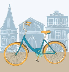ByciclePink11 vector image