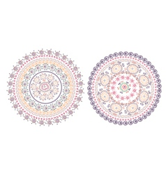 Circle pattern east design vector image vector image