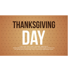 Collection card of thanksgiving celebration vector