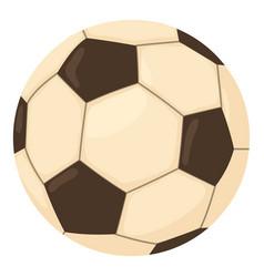 Football ball icon cartoon style vector