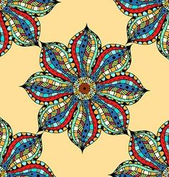 Vintage Seamless patterns vector image