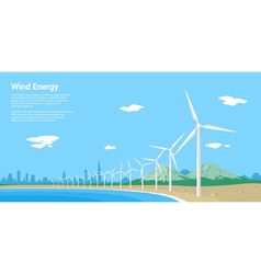 Wind energy vector