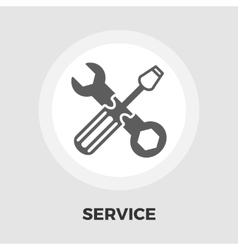Repair icon flat vector