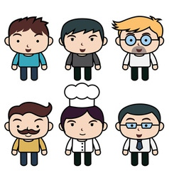 cartoon Bold vector image