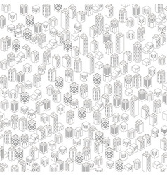 Urban architectural background vector