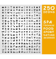 Collection of icons3 vector image