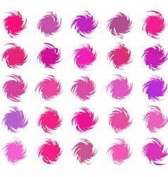 Abstract color pattern vector image