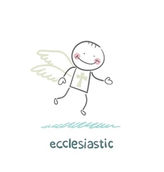 Ecclesiastic flies vector