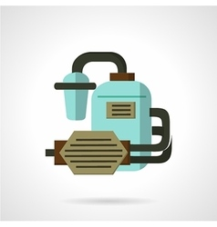 Flat icon for water supply vector image