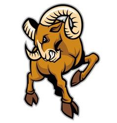 Rams mascot vector