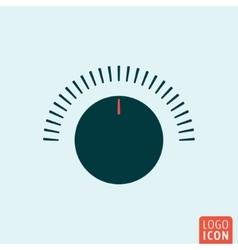 Volume button icon vector image vector image