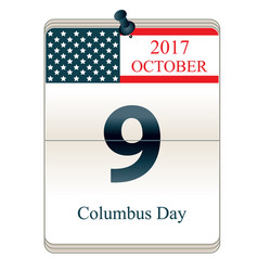 Christopher columbus day vector