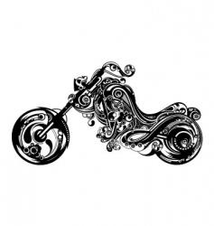 oriental motorbike vector image