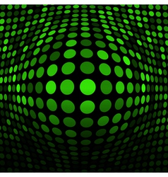Abstract green technology background for your desi vector