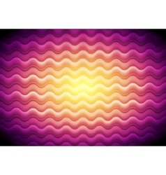 Abstract shiny waves background vector image