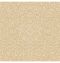 beige background with ornaments vector image vector image