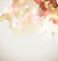 Bright and sparkling page layout for your vector